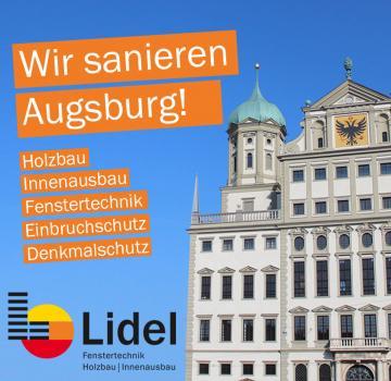 Flyer Lidel - Fenster - Schreinerei - Zimmerei - Holzbau - Parkett